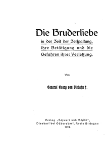 Bruderliebe :: Christian Writings Archive
